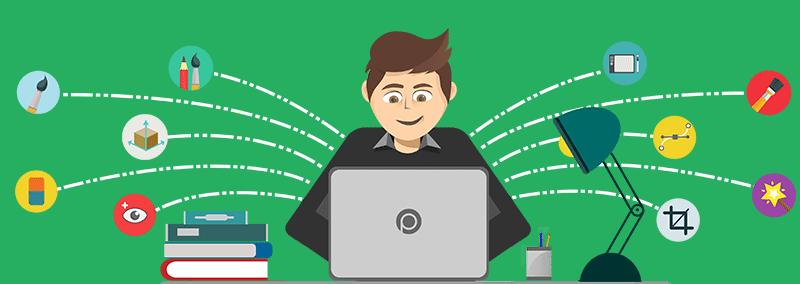 آموزش فتوشاپ و طراحی وب